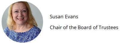 Susan Evans Banner