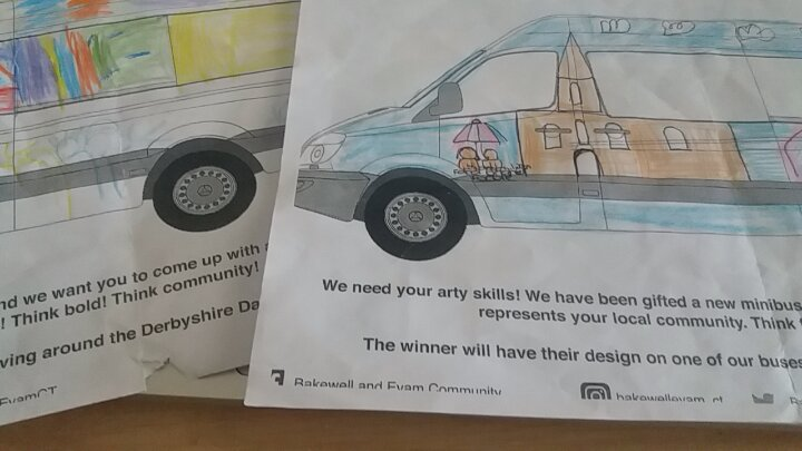 """""""Part of the Community it came from""""  Bakewell and Eyam CommunityTransport"""