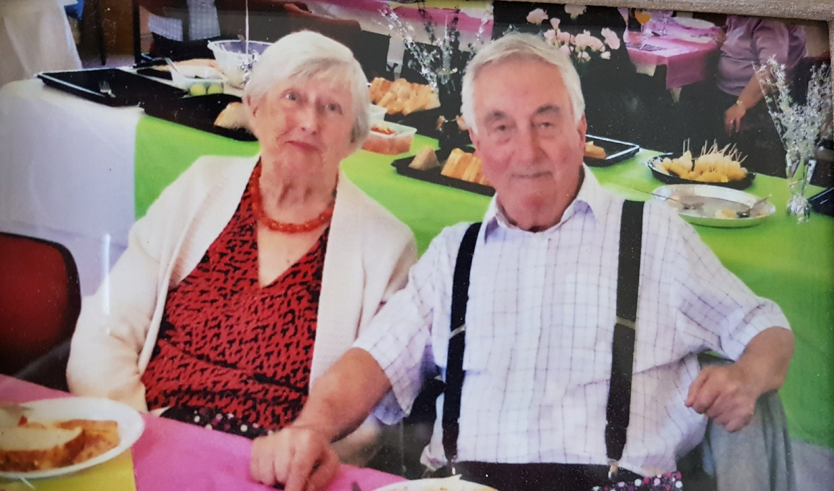 Finding love on a community transport minibus – Kathy and Ray's story.