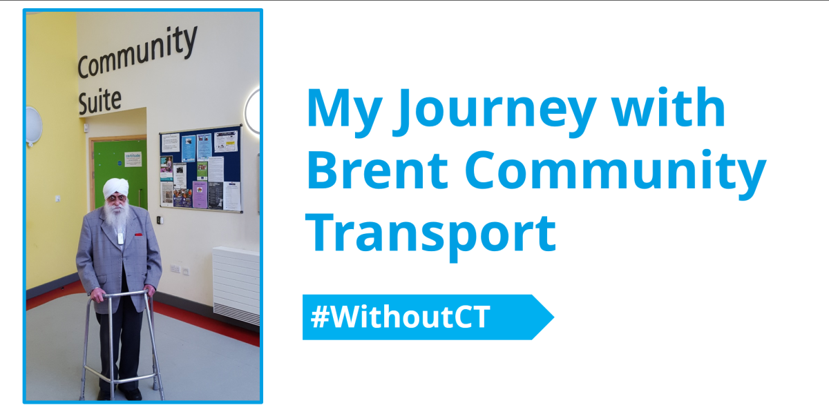 My Journey with Brent Community Transport